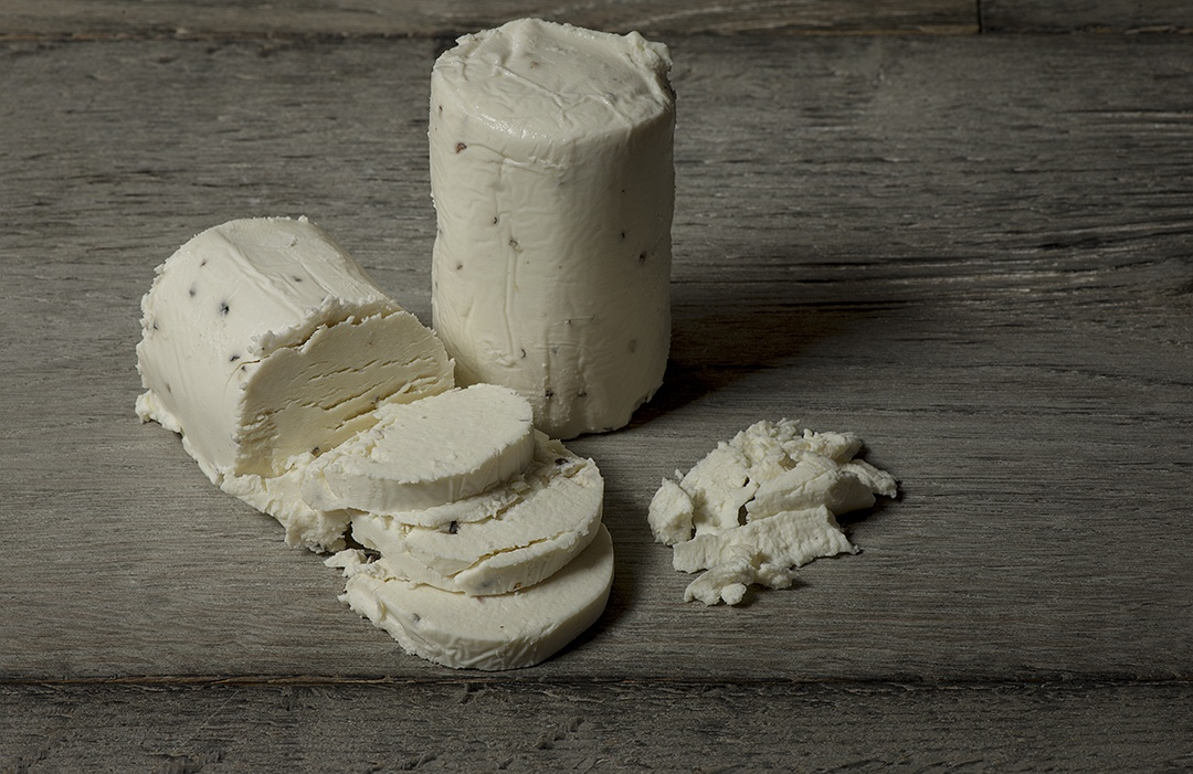 Chevre-Peppercorn