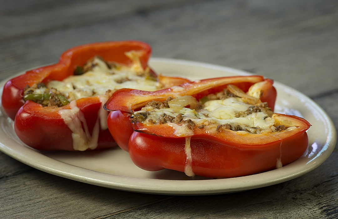 Roasted Stuffed Pepper – asadero cheese1