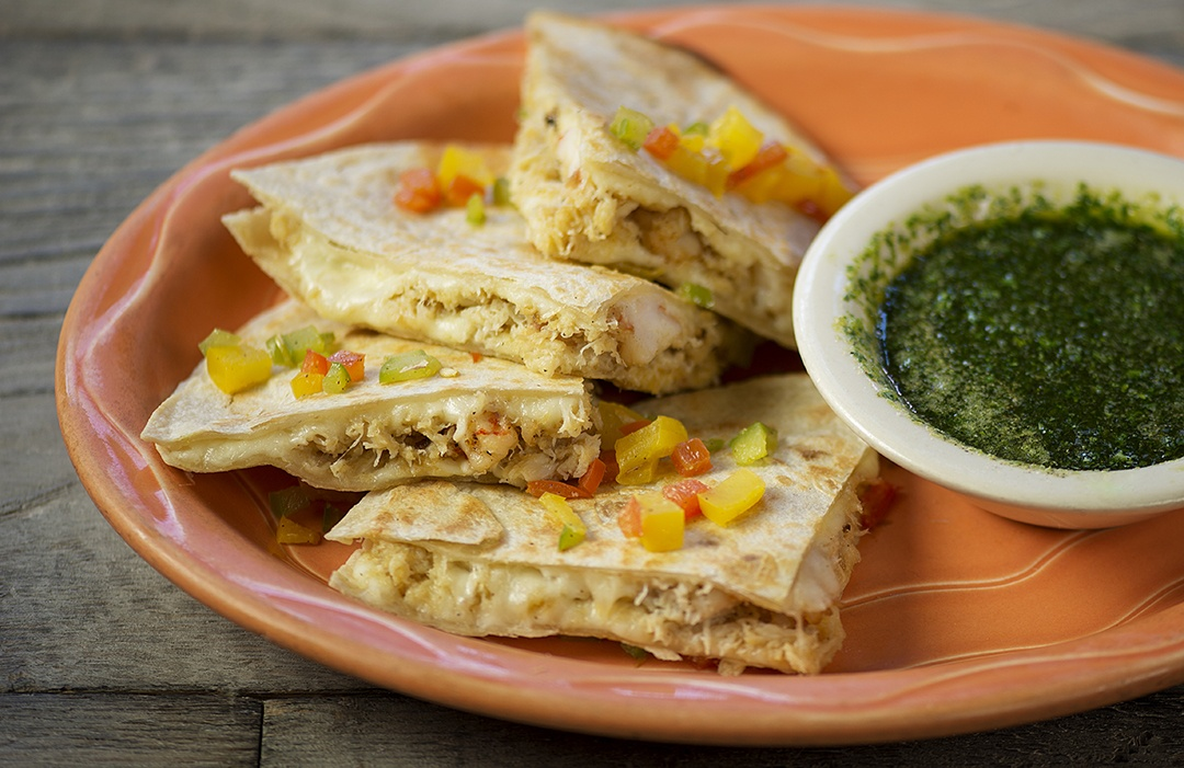 Seafood Quesadilla – asadero cheese1