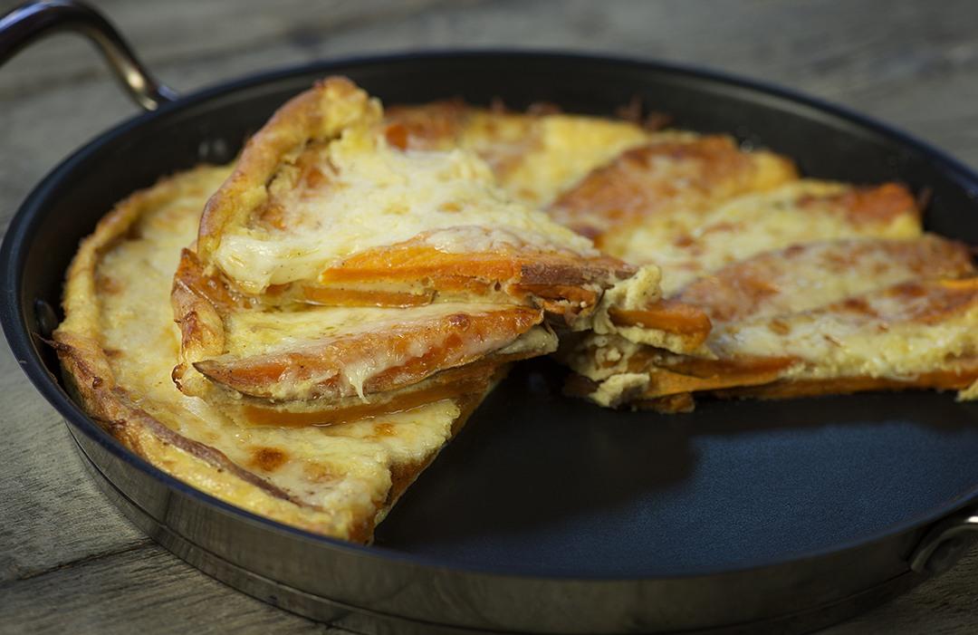 Spanish Tortilla Omelet – Crema Mexicana & manchego