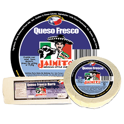 Small Product label Queso Fresco