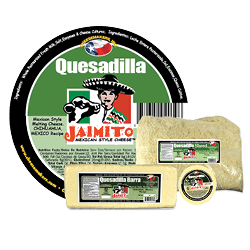 Small Product label Queso Quesadilla