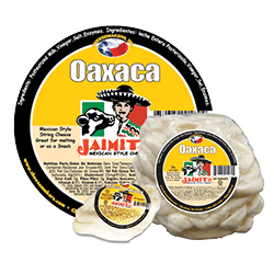 Small Product label Queso Oaxaca