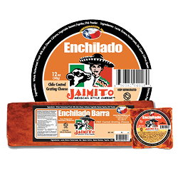 Small Product label Queso Enchilado