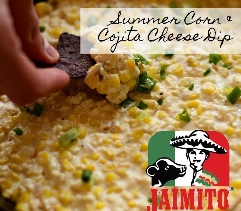 Summer Corn and Cojita Cheese Dip